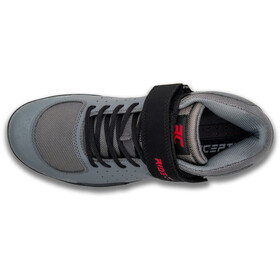 Ride Concepts Wildcat Scarpe Uomo, charcoal/red